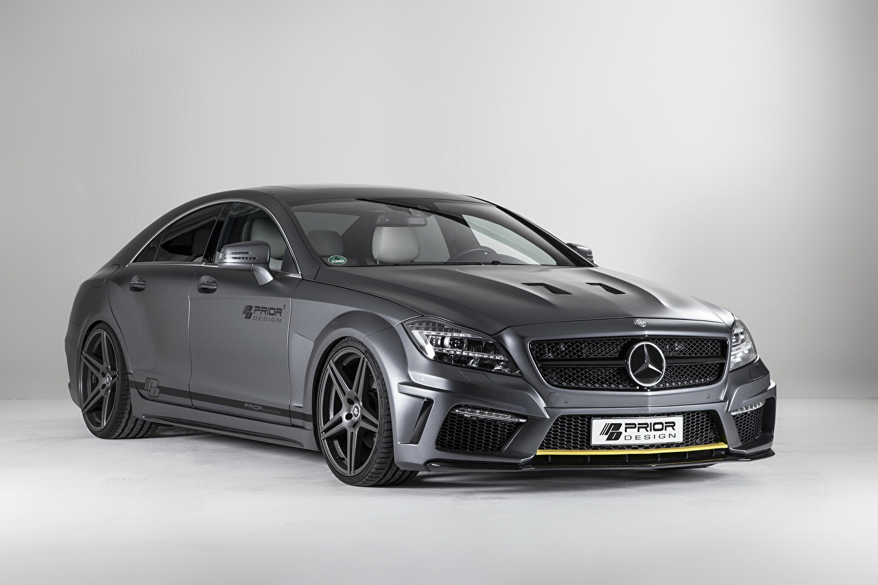 Image 2013 Prior Design PD550 Black Edition based on Mercedes-Benz CLS C218 gray Cars Grey auto automobile