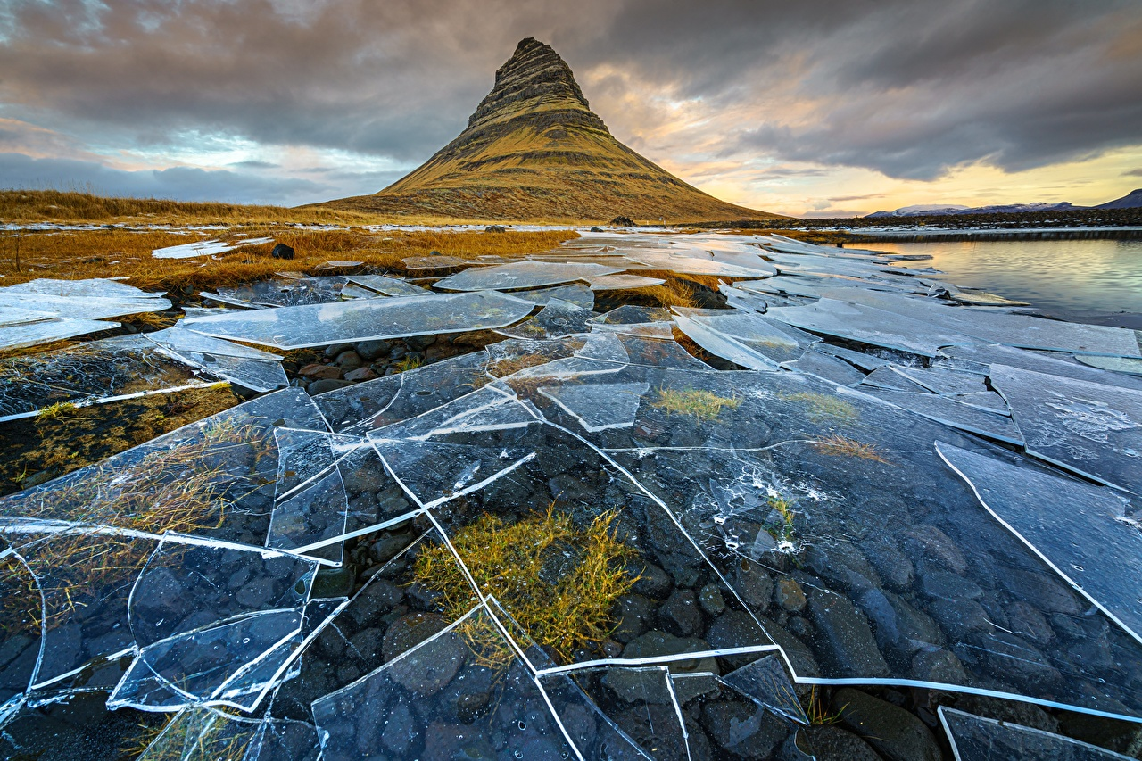 Wallpaper Iceland Ice Nature Mountains mountain