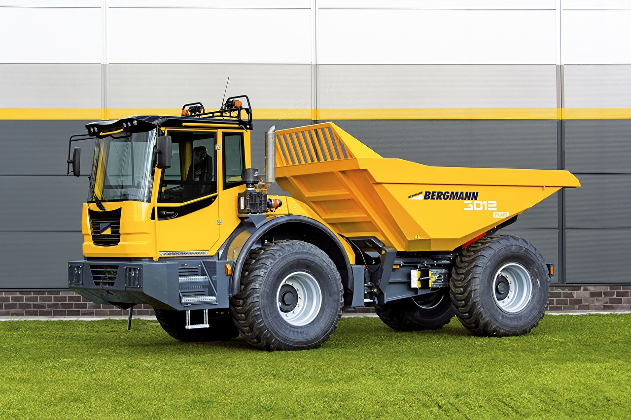 Pictures lorry 2016-17 Bergmann 3012 R PLUS Yellow Cars Trucks auto automobile