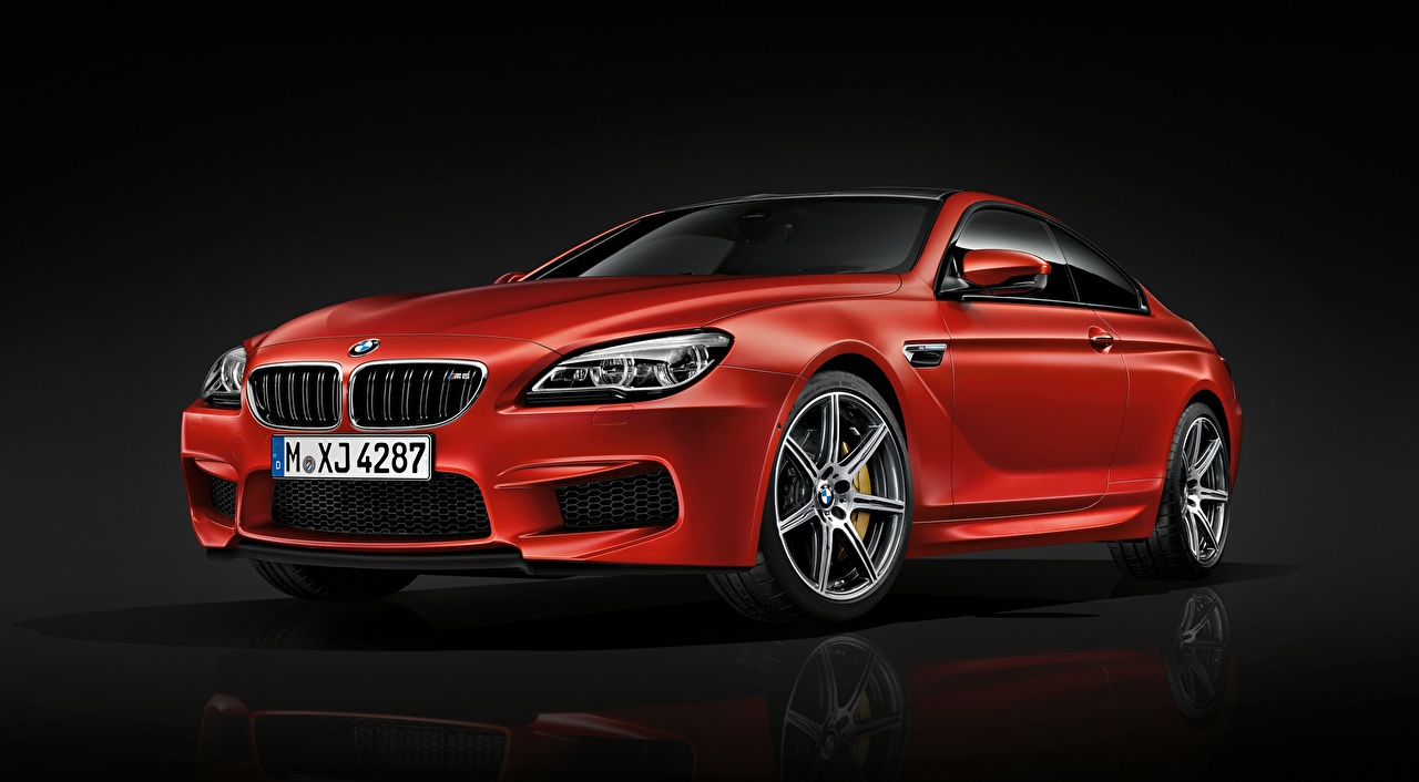 Image BMW M6 Coupe, Competition Package, 2015 Coupe Red Cars Metallic auto automobile