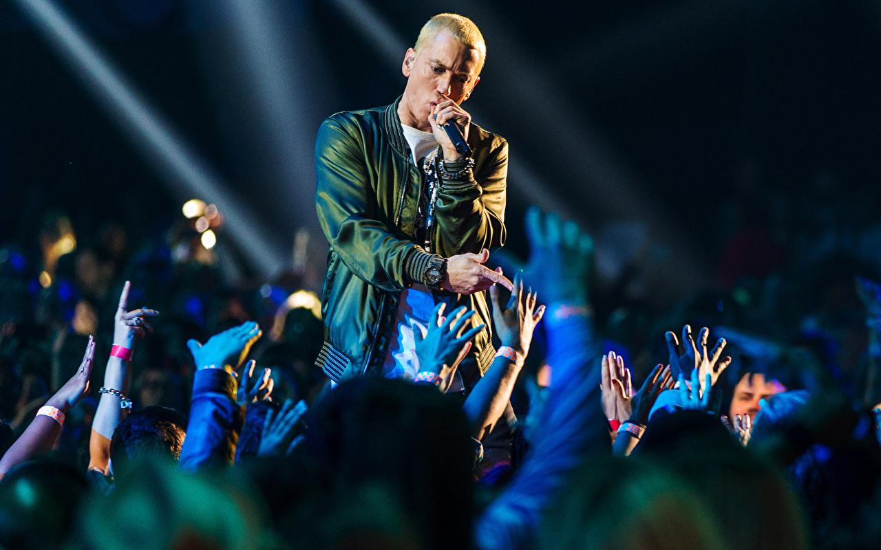 Fondos De Pantalla Eminem Varón Concierto Música Celebridad