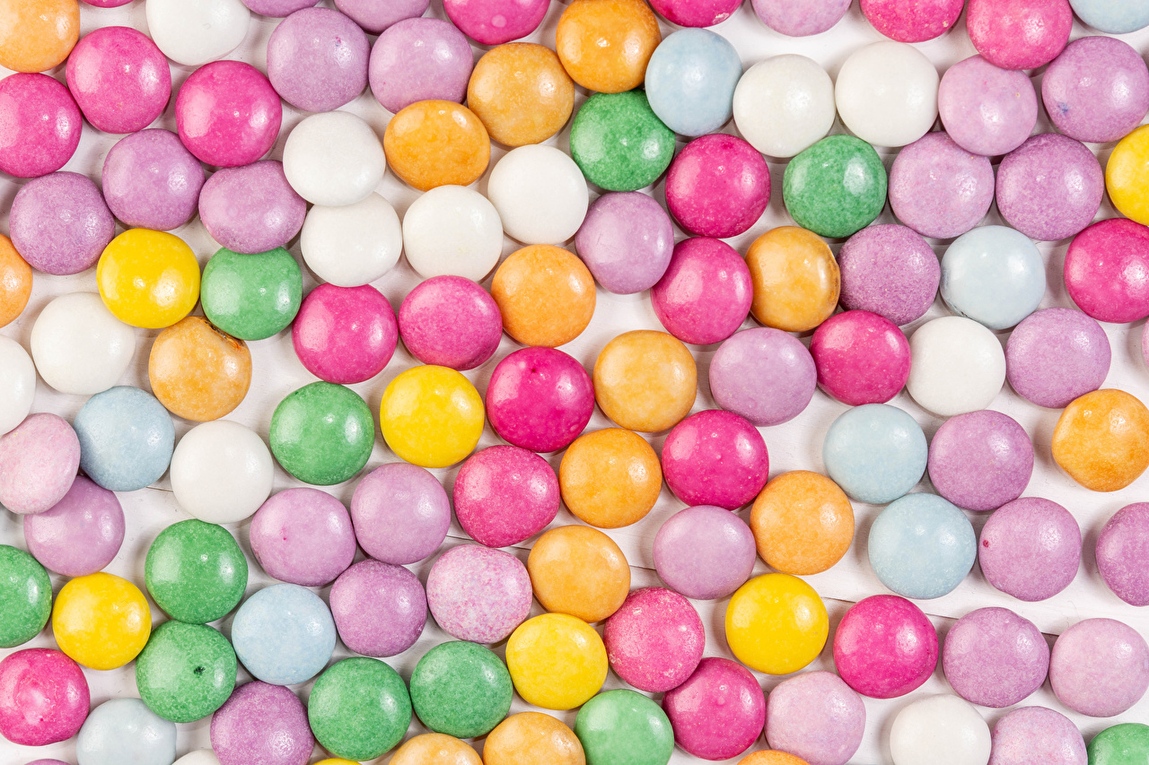 Desktop Wallpapers Texture Dragee Multicolor Food Sweets confectionery