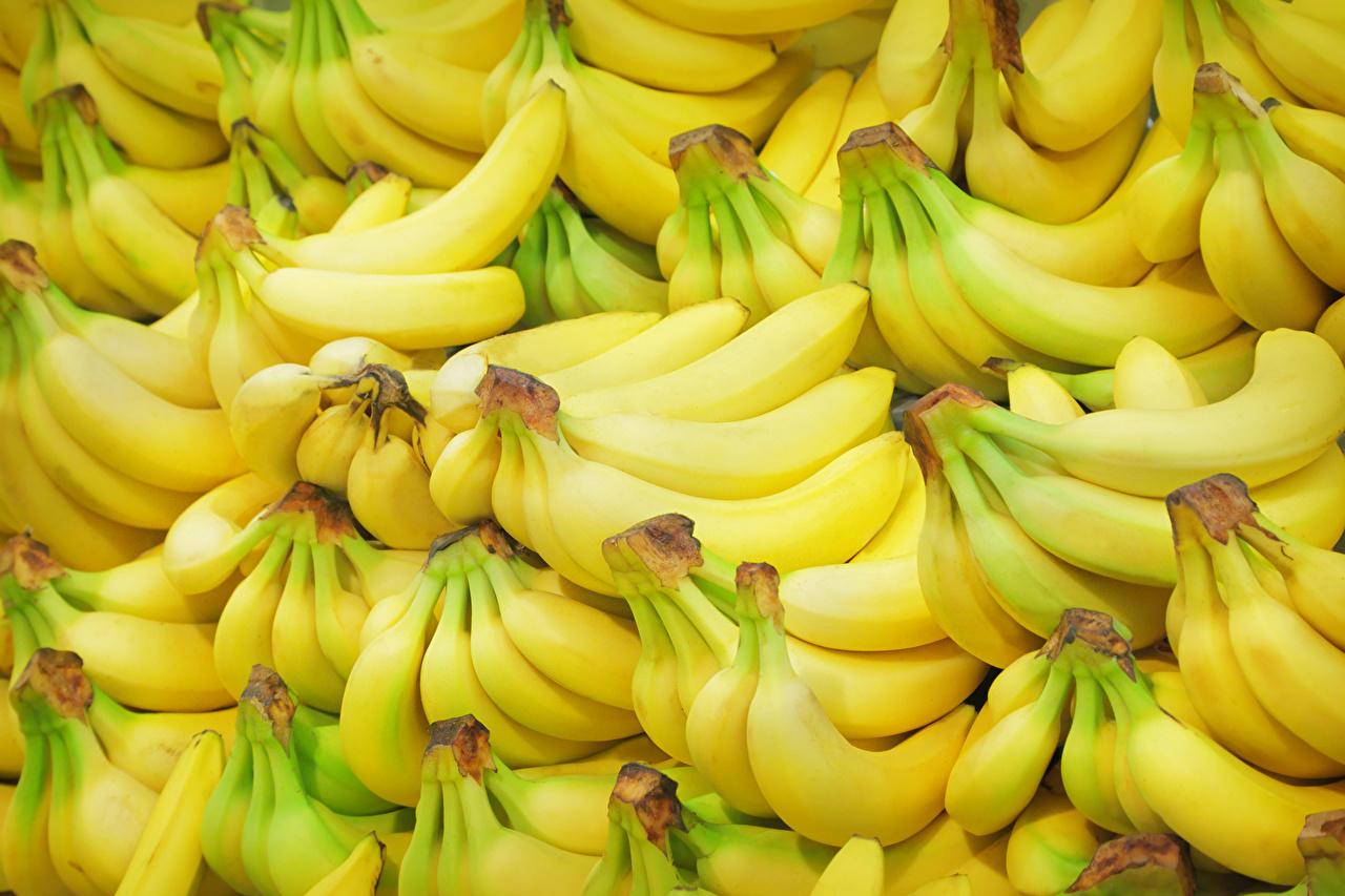 壁紙 果物 バナナ たくさん テクスチャー 食品 ダウンロード 写真