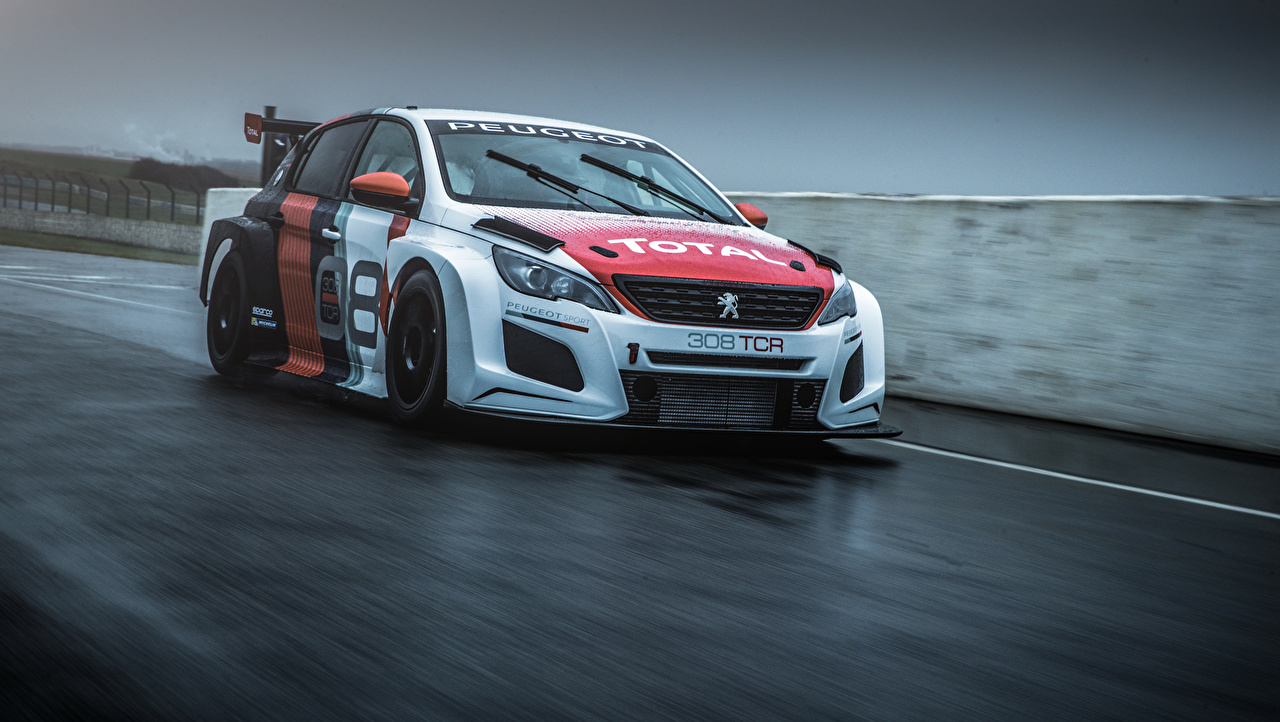 Image Tuning Peugeot 2018 308 TCR Motion Cars moving riding driving at speed auto automobile
