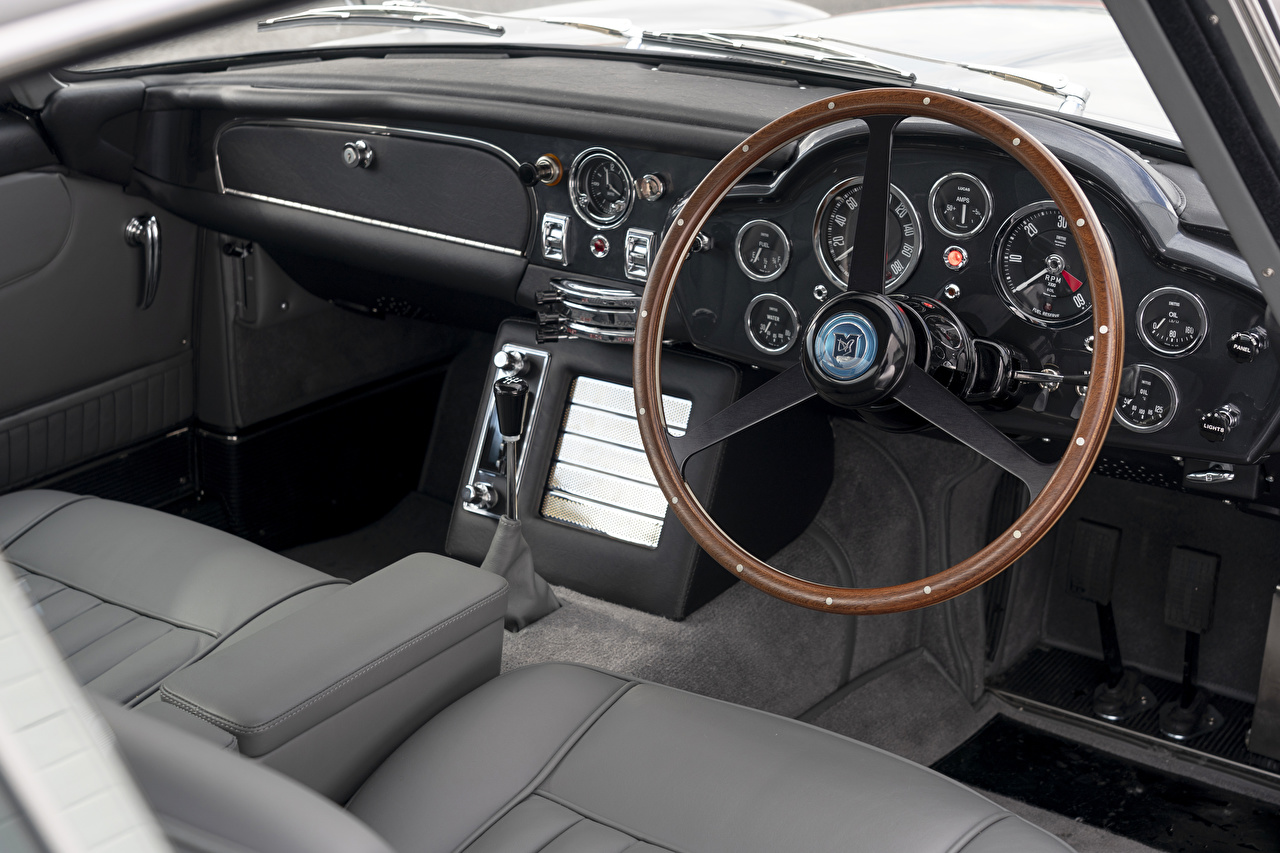 Aston Martin Salons DB5 Goldfinger Continuation, 2020 Volant directionnel voiture, automobile Voitures