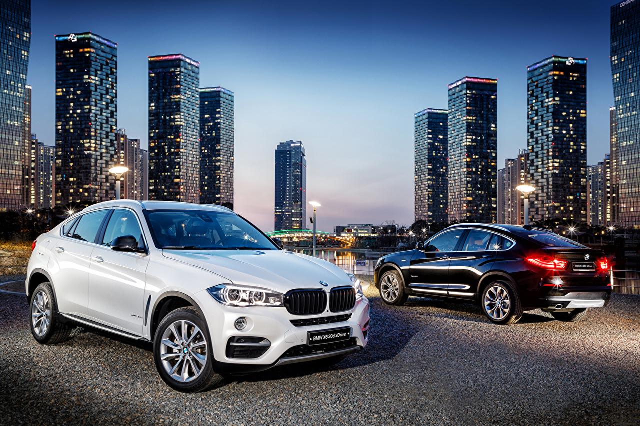 Photos BMW 2015-18 X4 xDrive 20d M Sport Two Cars Metallic 2 auto automobile