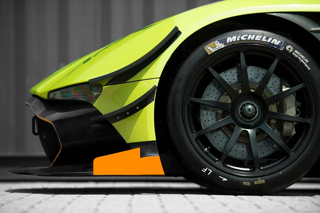 ,特寫,阿斯顿·马丁,MICHELIN, Vulcan AMR Pro 2017,車輪,輪胎,側視圖,汽车,