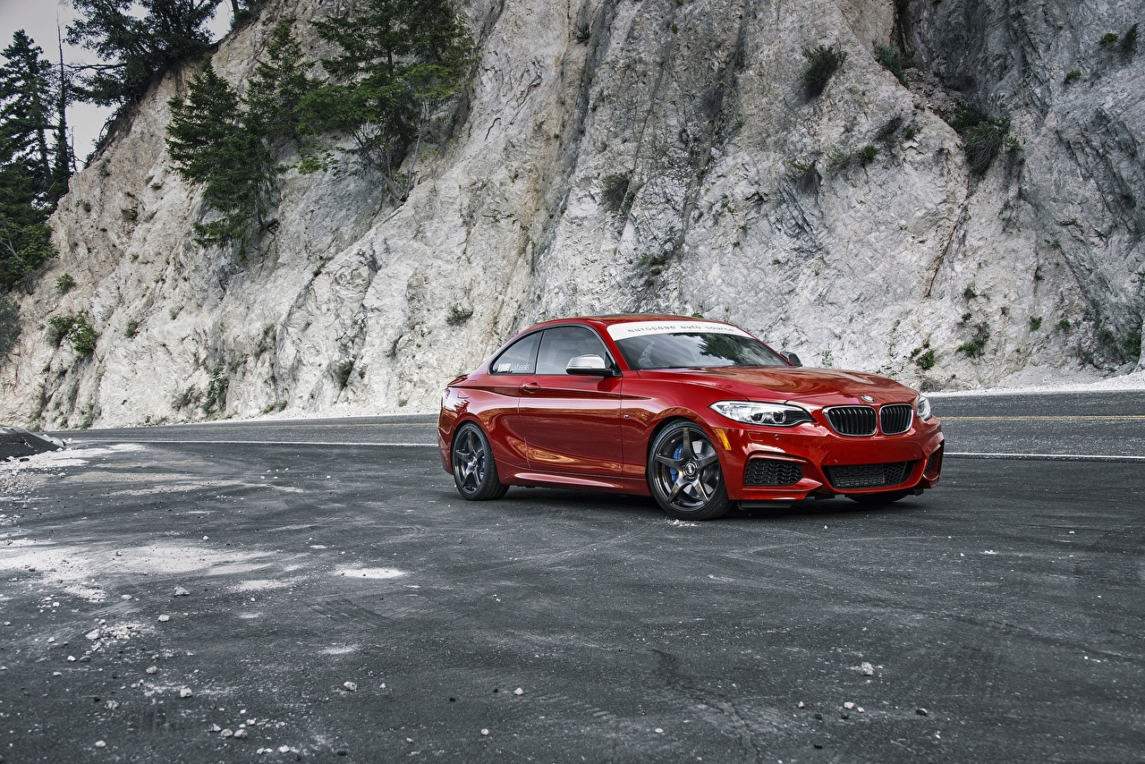Images BMW F22 M235i Red Cars auto automobile