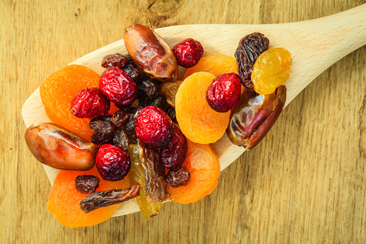 Photos Food Apricot Spoon Dried fruit Dried apricot