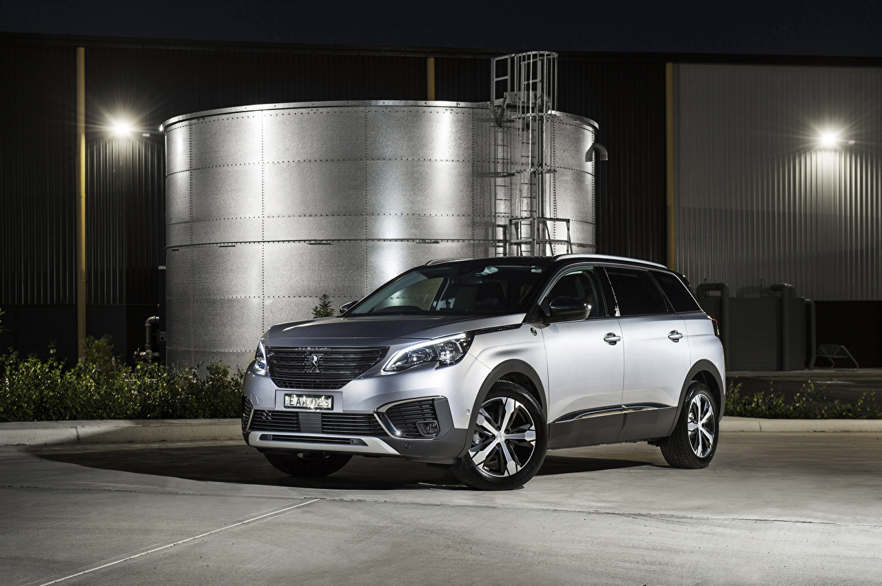 Image Peugeot CUV 2019 5008 Crossway Silver color Cars Crossover auto automobile