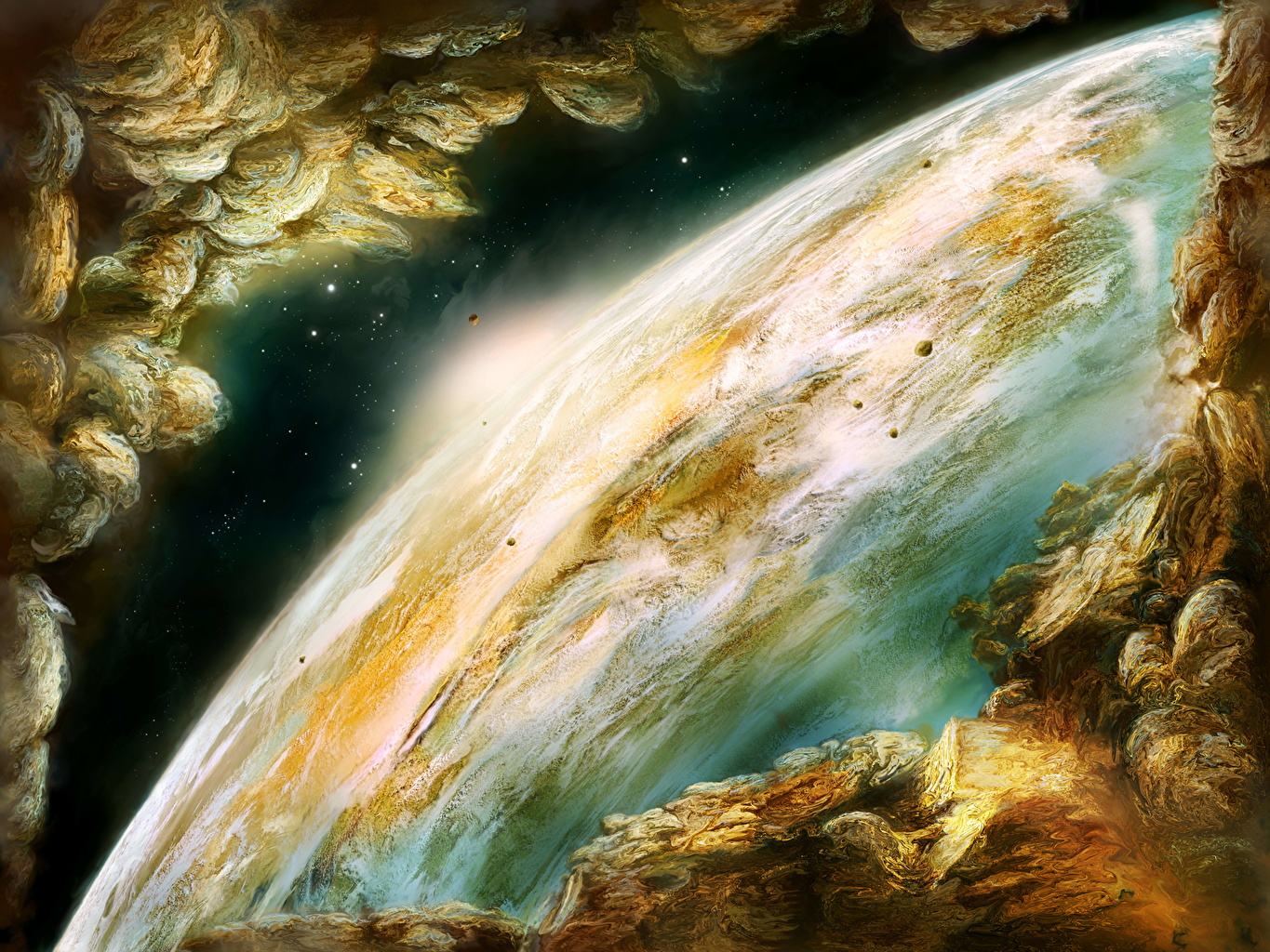 Pictures planet Surface of planets Space Planets