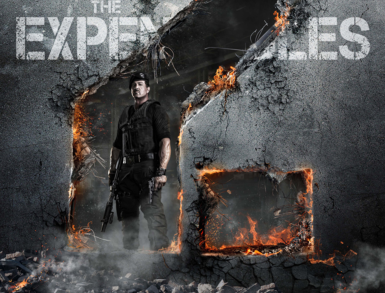 Desktop Wallpapers The Expendables 2010 Sylvester Stallone Movies film