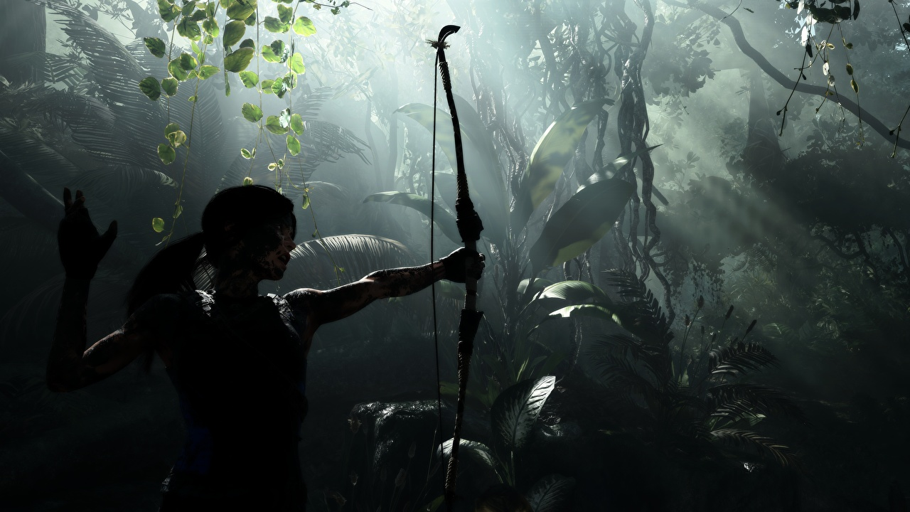 Picture Tomb Raider Archers Lara Croft Shadow of the Tomb Raid vdeo game Games