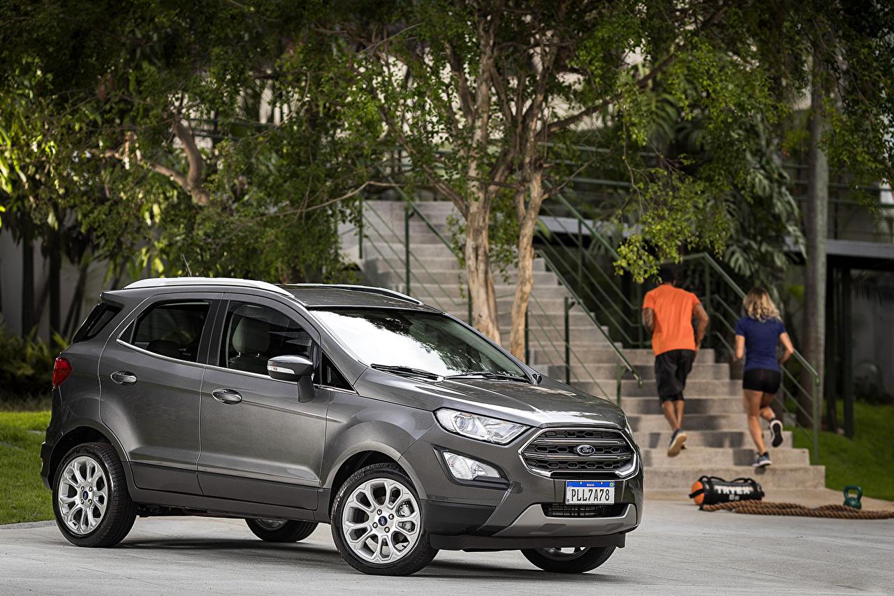 Images Ford 2018-19 EcoSport Titanium Latam Grey Cars auto automobile