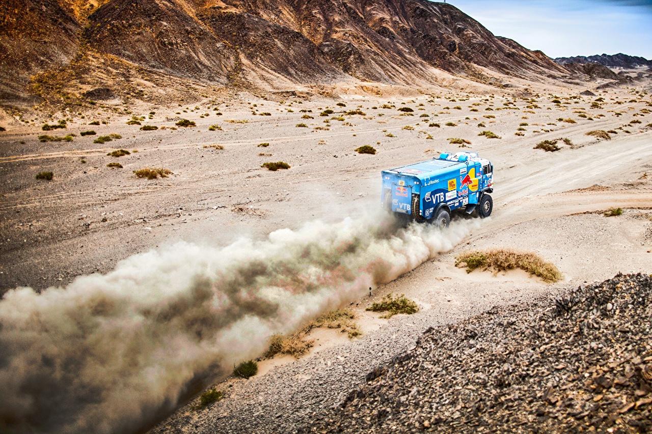 Desktop Wallpapers KAMAZ Trucks Rallying 307 SilkWay auto lorry Cars automobile