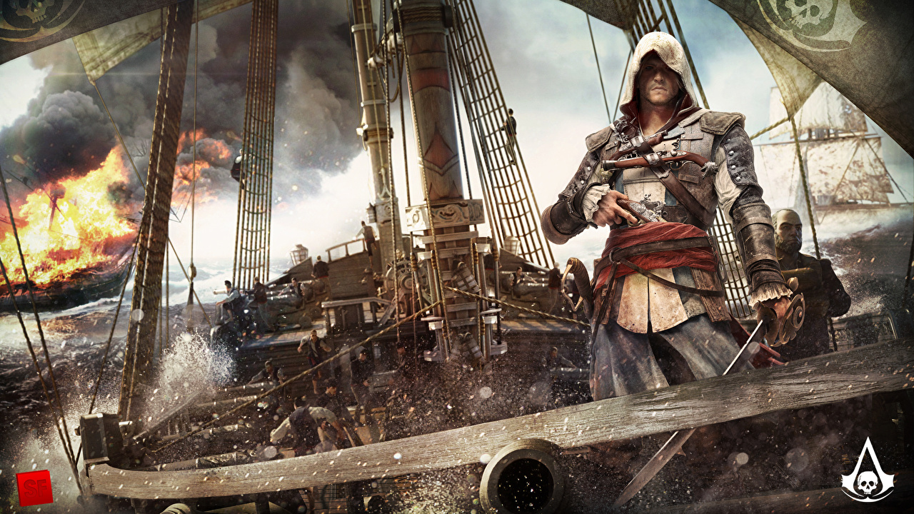 Photo Assassin's Creed Assassin's Creed 4 Black Flag Pirates Man