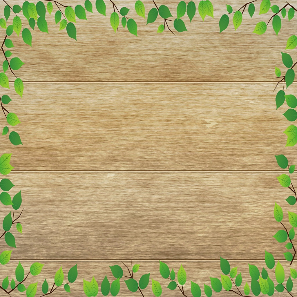 Image Foliage Branches Template greeting card boards Leaf Wood planks