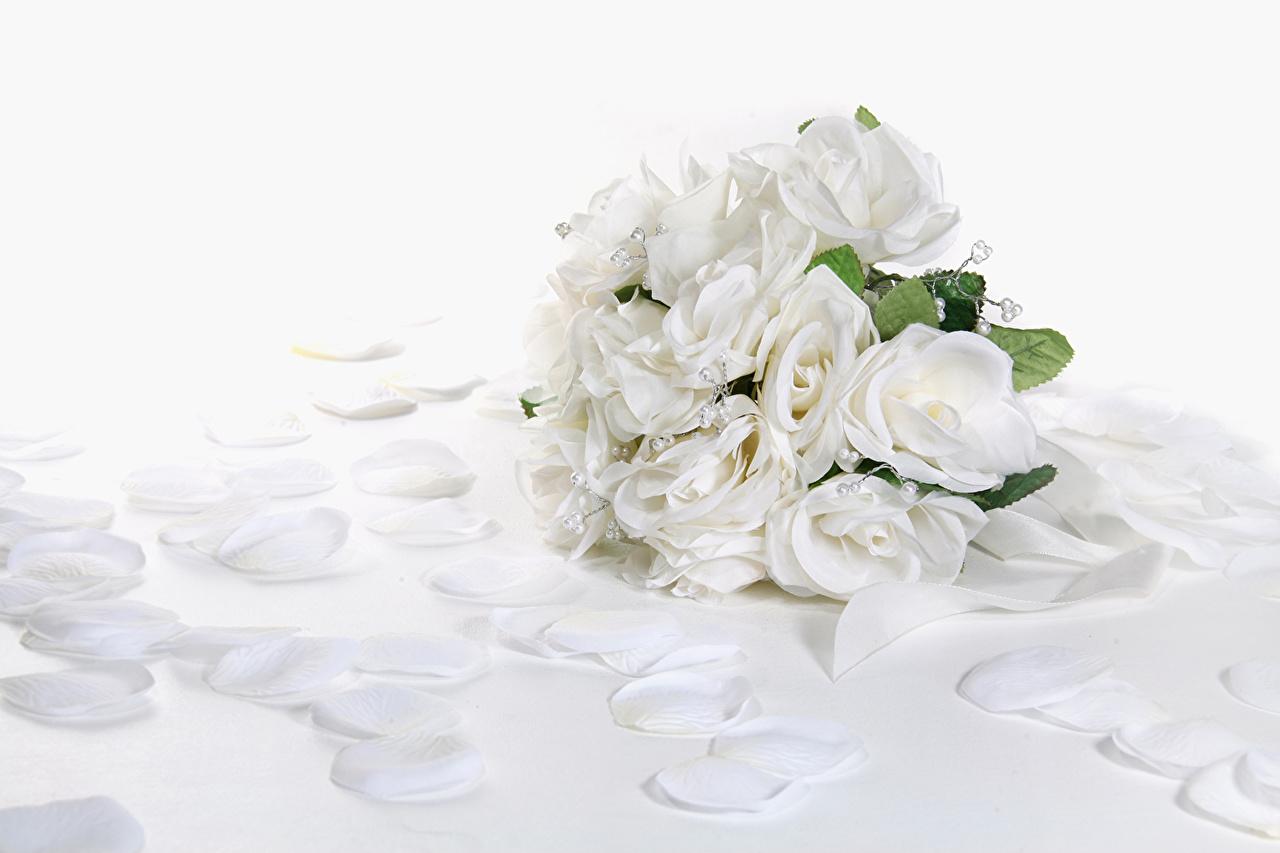 壁紙 バラ ブーケ 白 花びら 花 ダウンロード 写真