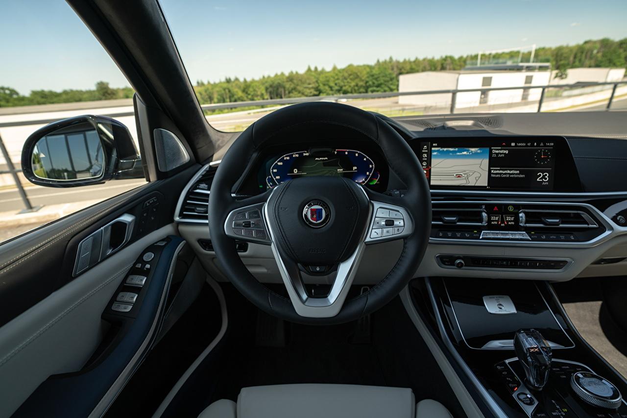 Bilder BMW Salons Lenkrad Alpina XB7 Worldwide, G07, 2020 Autos auto automobil