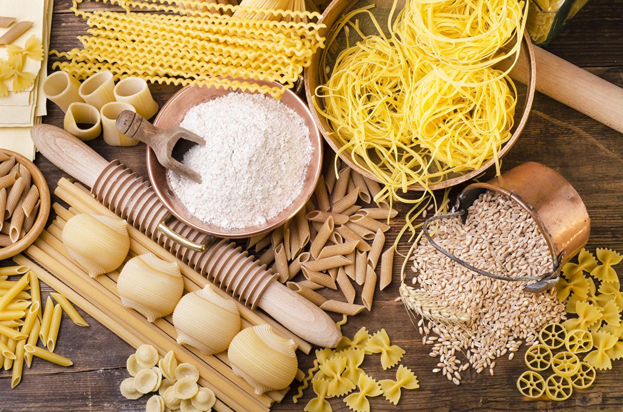 Photos Pasta Flour Grain Food