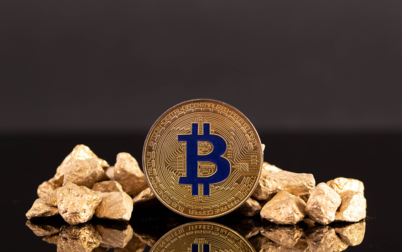 Pictures Bitcoin Movies Money stone Gray background film Stones