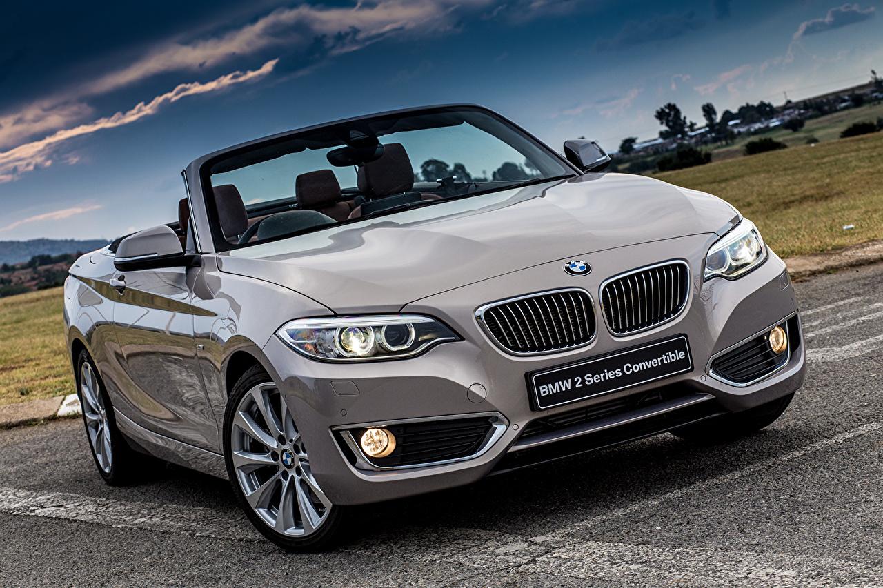 Image BMW 2015 228i Luxury ZA-spec F23 Cabriolet Front automobile Convertible Cars auto