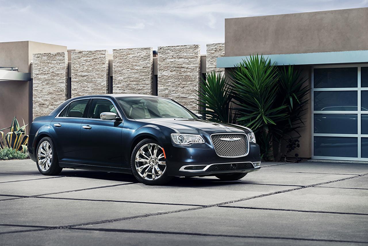 Immagini Chrysler 2015 300 C Blu colori Auto metallico macchina macchine automobile autovettura Metallizzato