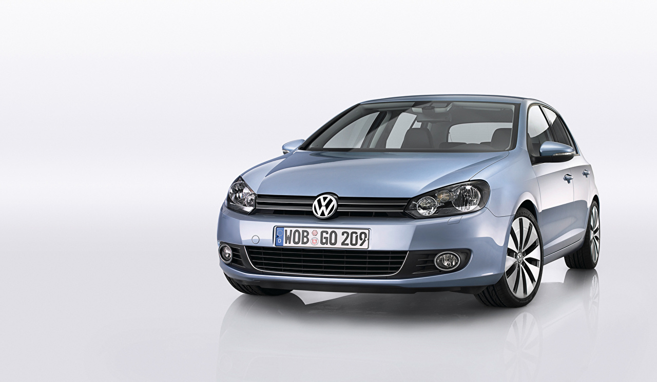 Pictures Volkswagen auto Front Metallic Cars automobile