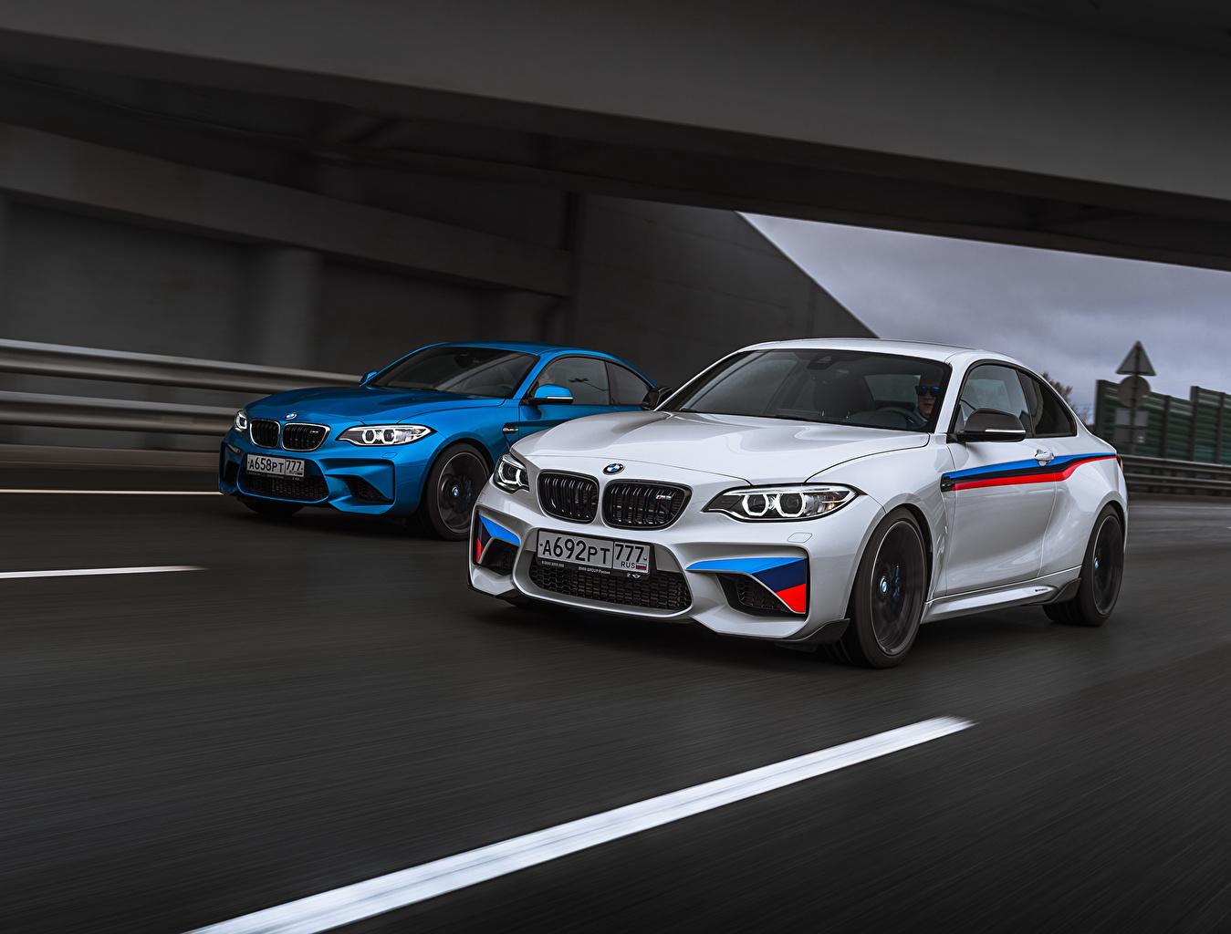 Image BMW M2 F87 Coupe White automobile Cars auto