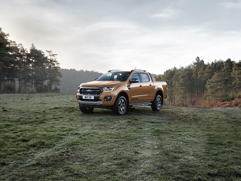 Foto Ford 2019 Ranger Wildtrak Pick-up Autos Metallisch