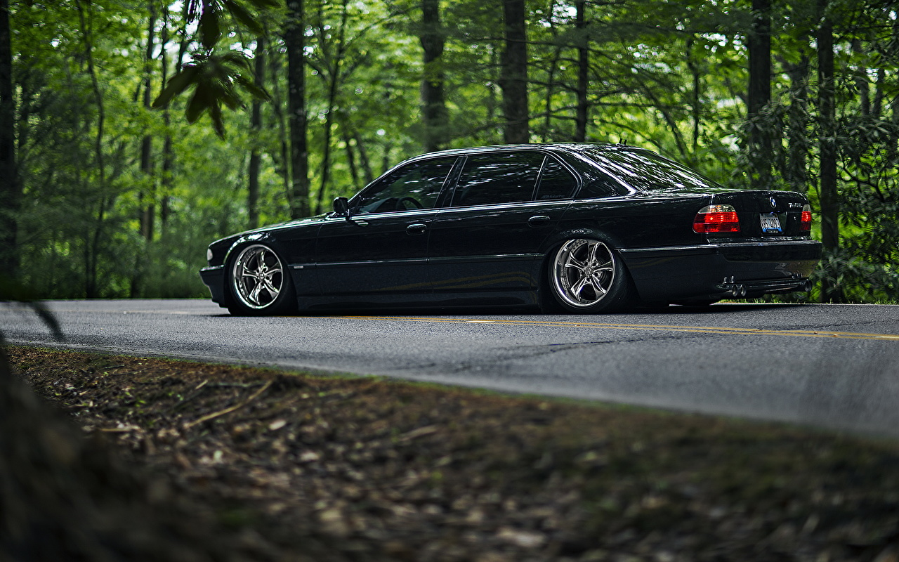 Images Bmw 740il E38 Stance 7 Series Side Cars