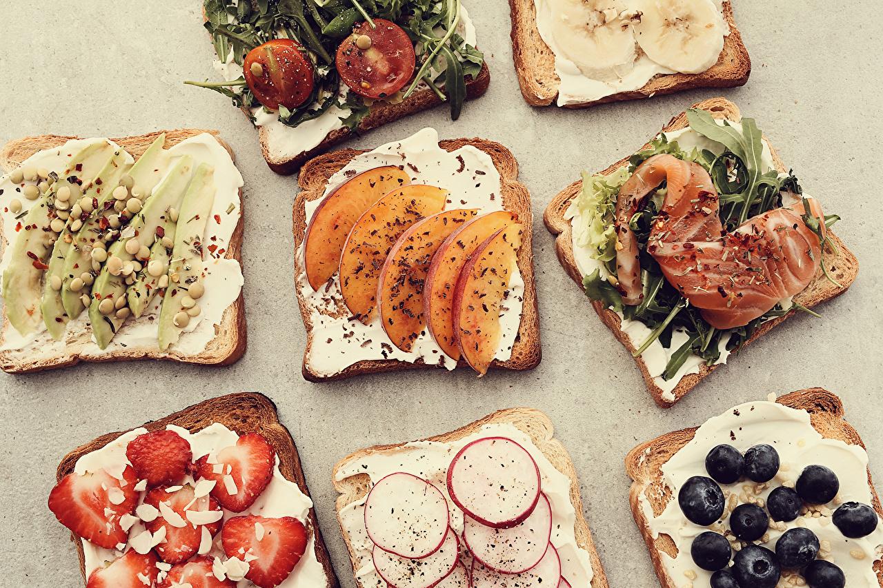 Desktop Wallpapers Breakfast Bread Butterbrot Fish - Food Food Fruit Vegetables