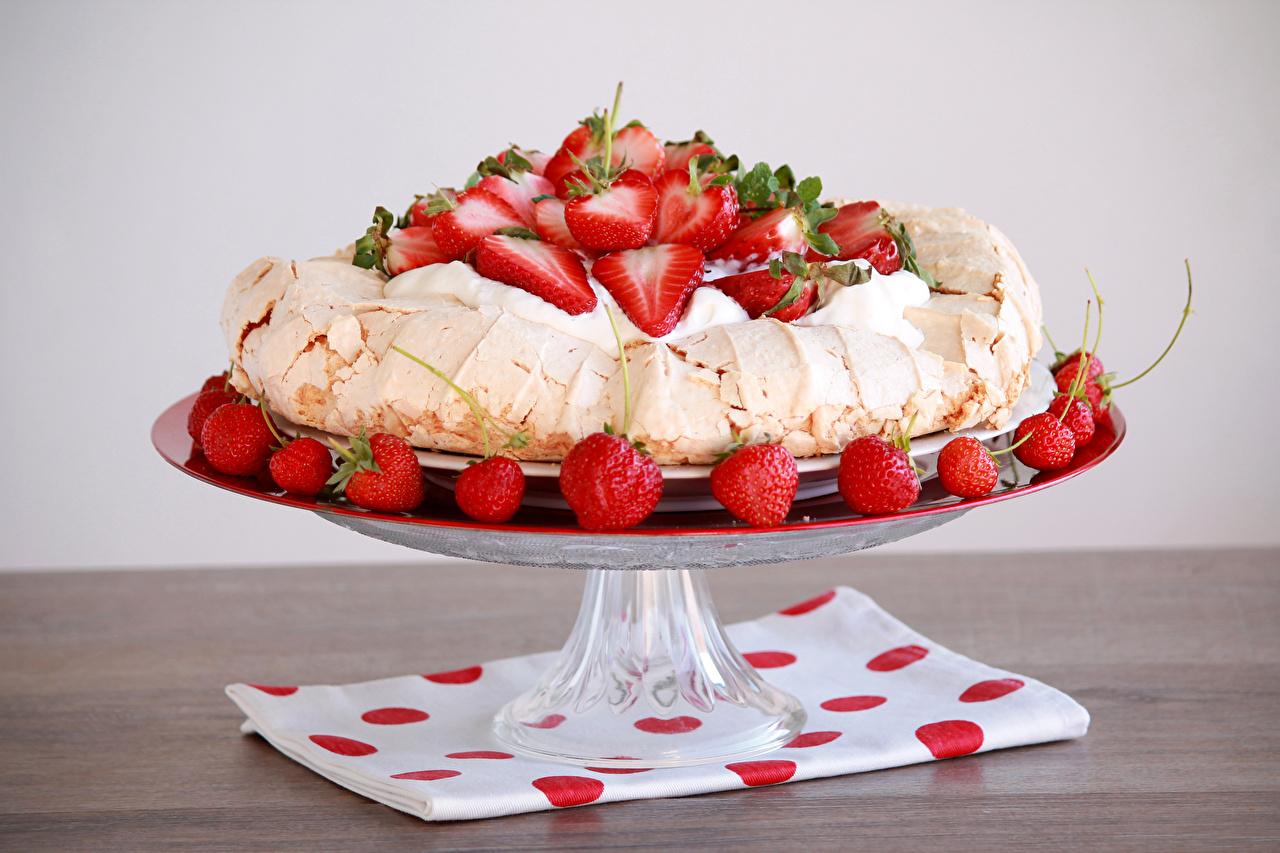 Desktop Wallpapers Cakes Cream Strawberry Food Design Torte