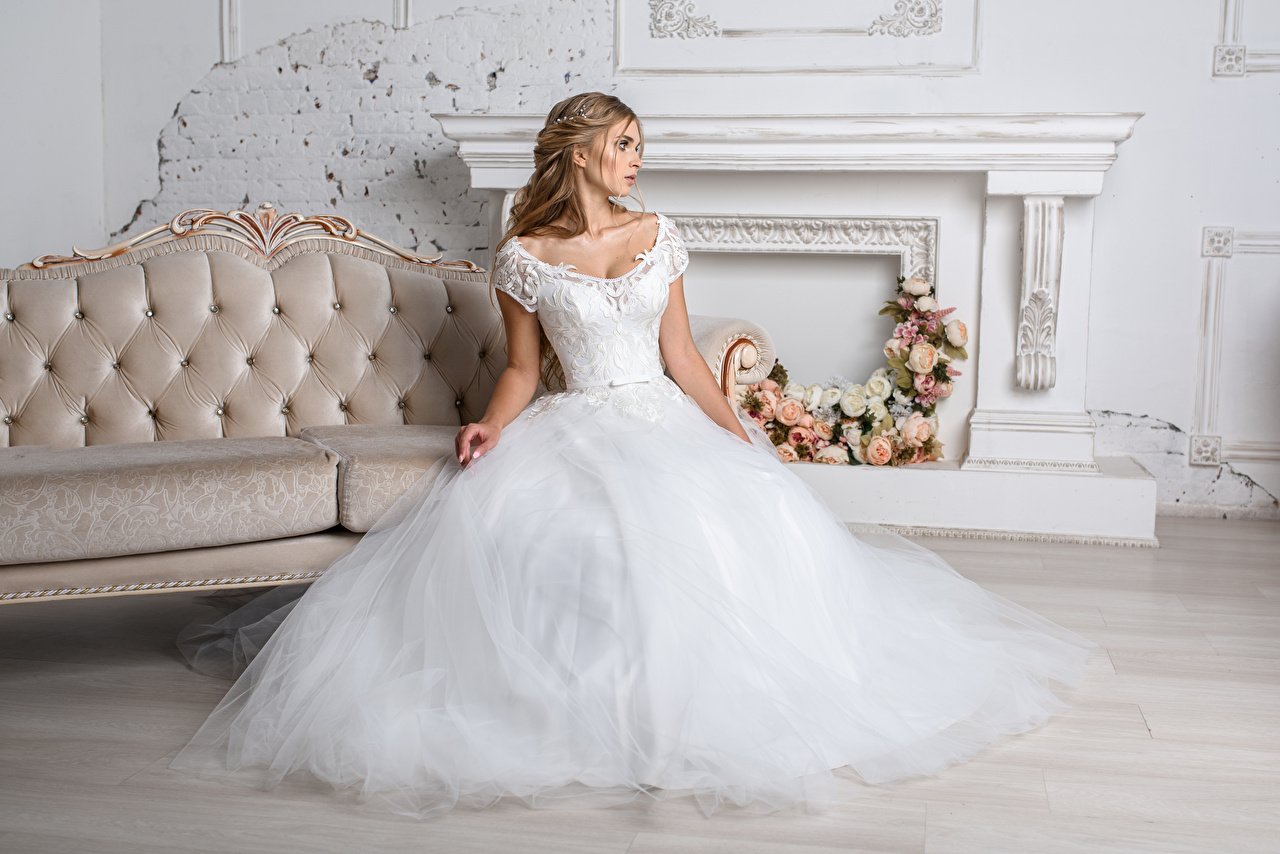 Pictures Bride Wedding Igor Kondukov Girls Dress noces brides marriage female young woman gown frock