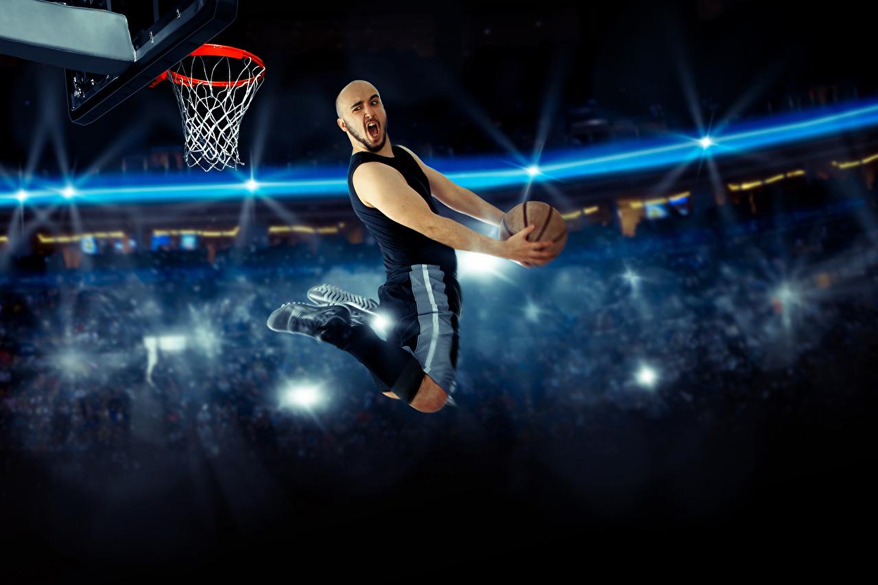 壁紙 バスケットボール 男性 飛び スポーツボール スポーツ