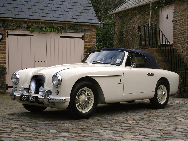 Picture Aston Martin 1955 Db2 4 Drophead Coupe Mkii Retro White