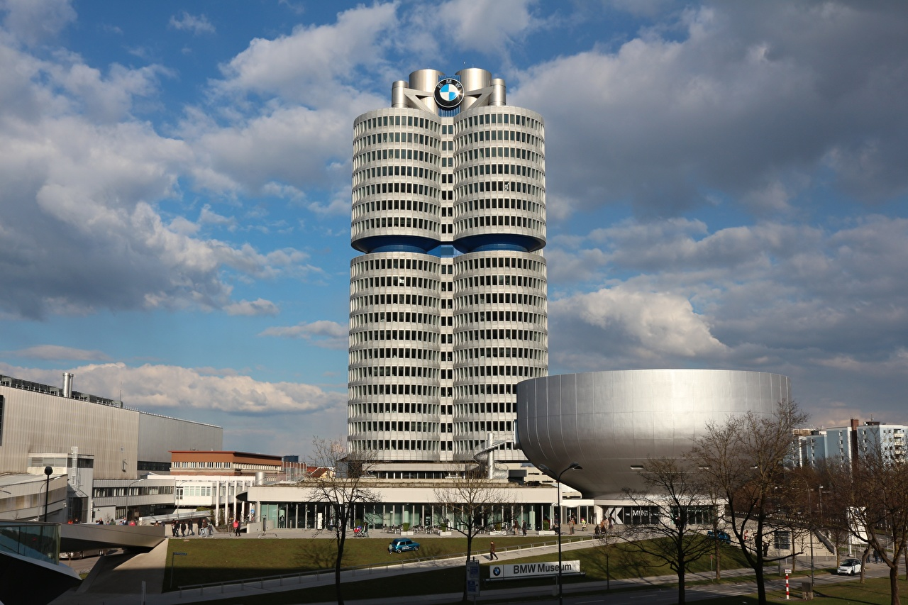 Photos Munich Germany museums Bmw Museum Cities