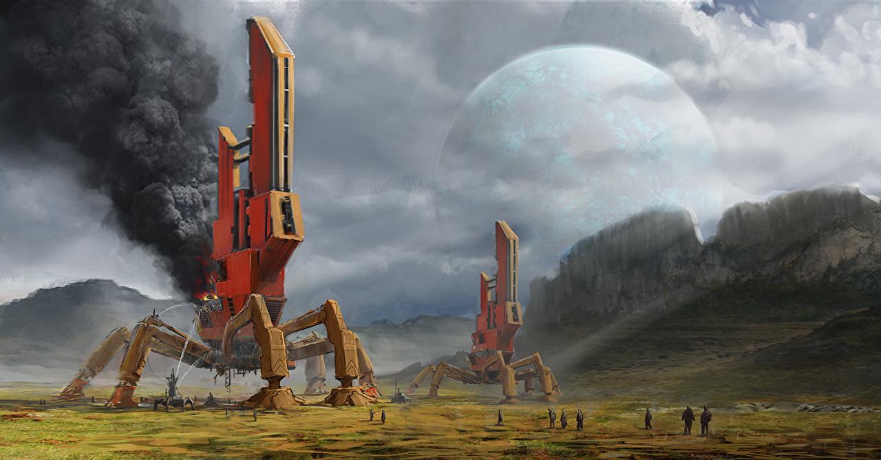 Mundo fantástico Técnica Fantasia Planetas planeta Fantasia Espaço