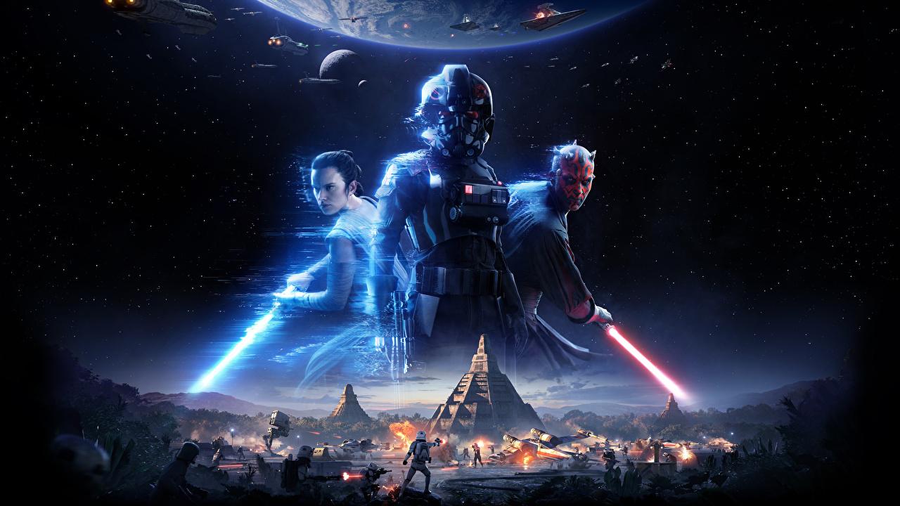 Desktop Wallpapers Star Wars Battlefront Ii 2017 Warrior Games