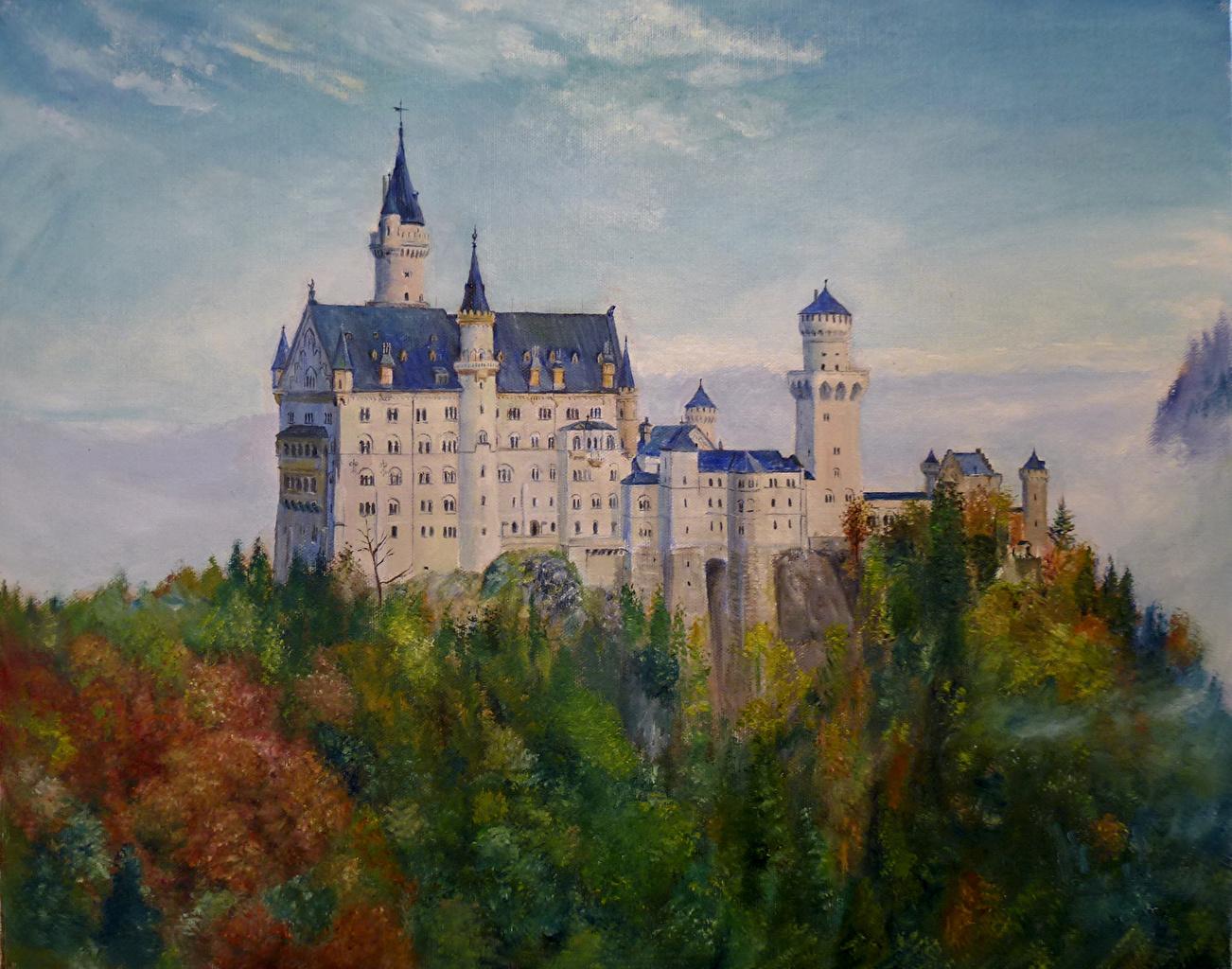 Fotos Von Bayern Schloss Neuschwanstein Deutschland Burg Stadte