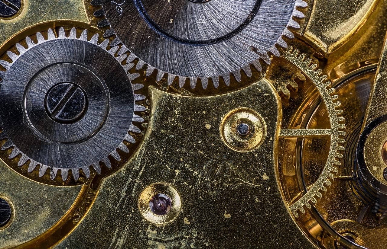 Wallpaper Mechanism cogwheel Closeup Gear gears