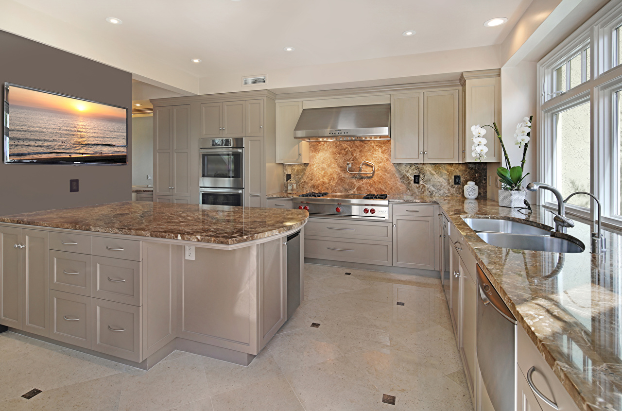 Fotos von Küche Innenarchitektur Tisch Design