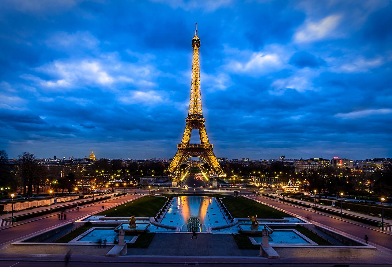 壁紙 フランス パリ エッフェル塔 都市 ダウンロード 写真