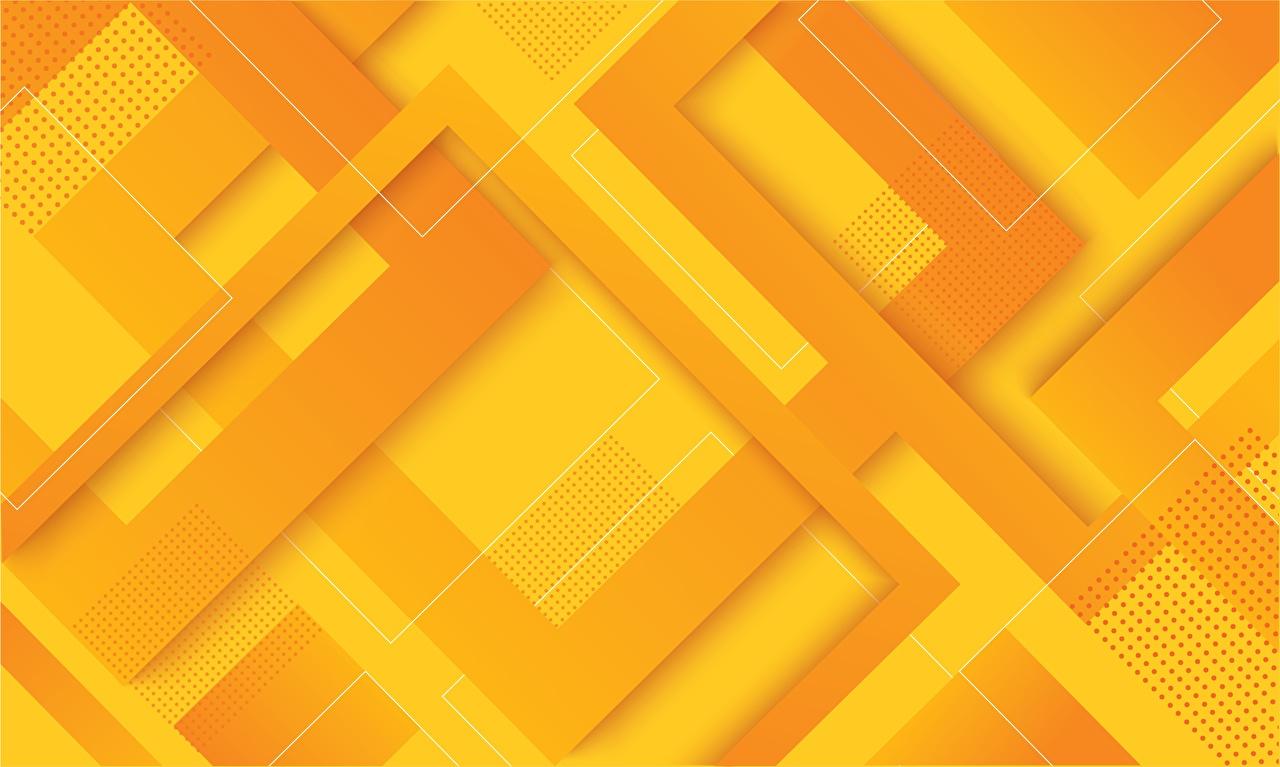 Geometria Traceria Textura Laranja Amarelo ornamento 3D Gráfica