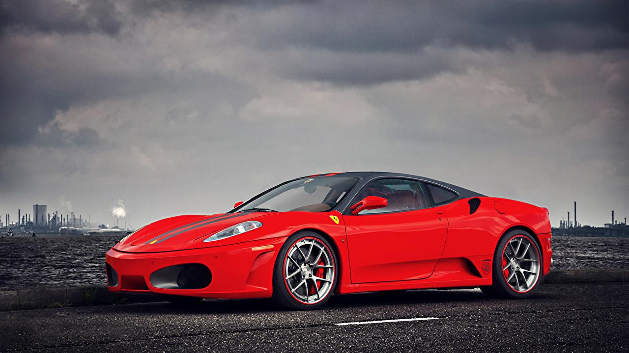 Fonds D Ecran Ferrari F430 Rouge Luxe Voitures Telecharger Photo