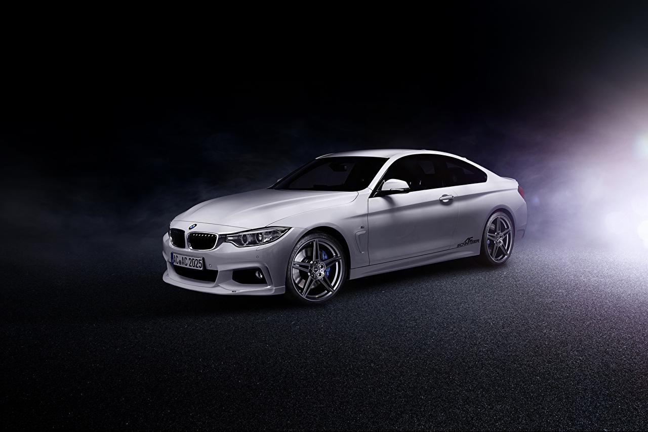 Wallpaper BMW 2013 AC Schnitzer ACS4 4-Series Coupe F32 White Cars auto automobile