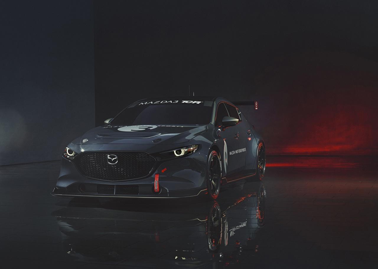 壁紙 マツダ Mazda 3 Tcr 灰色 自動車 ダウンロード 写真