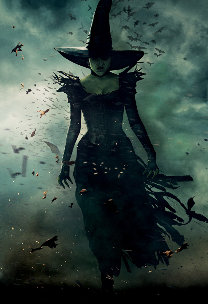 Desktop Wallpapers Witch Horrible Oz The Great And Powerful Hat