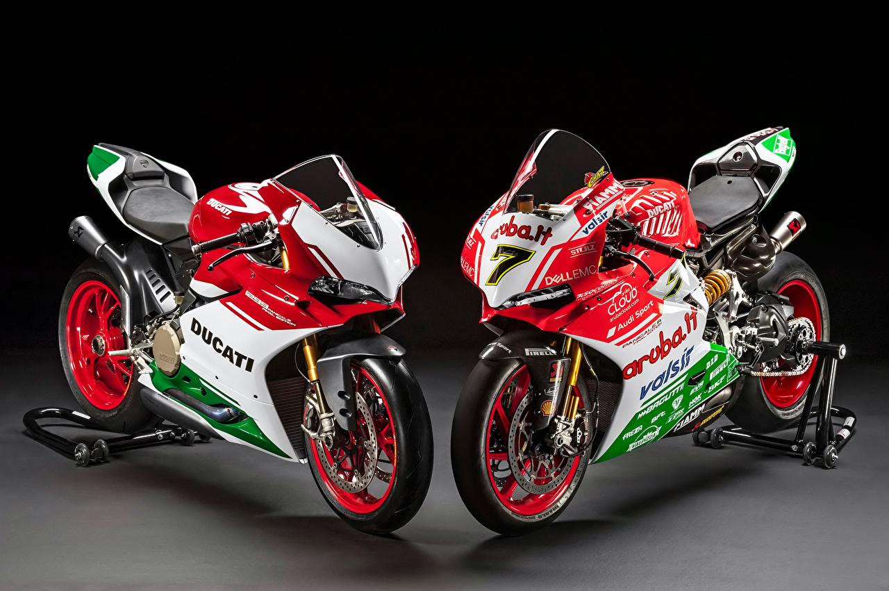 Fonds D Ecran Ducati Panigale Deux Motocyclette Telecharger Photo