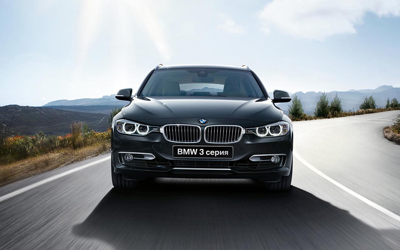 Photos BMW 2015 3 series Touring Front automobile Cars auto